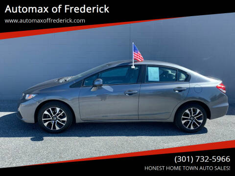 2013 Honda Civic for sale at Automax of Frederick in Frederick MD