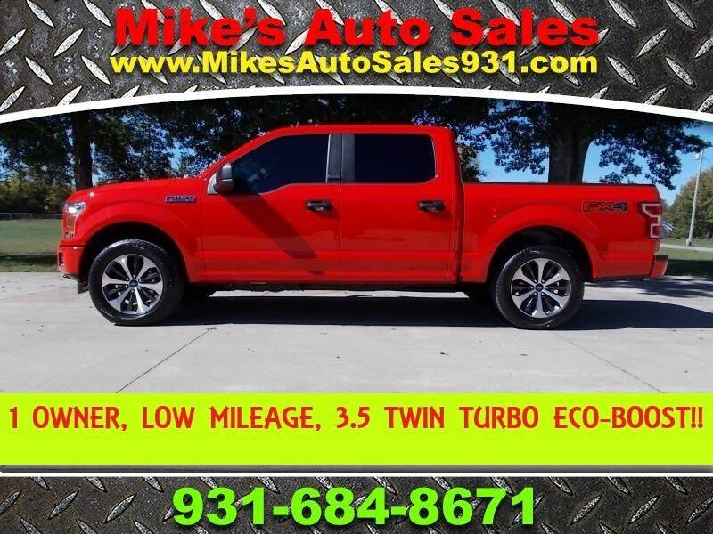 2020 Ford F-150 for sale at Mike's Auto Sales in Shelbyville TN