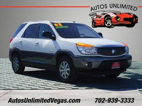 2003 Buick Rendezvous for sale at Autos Unlimited in Las Vegas NV