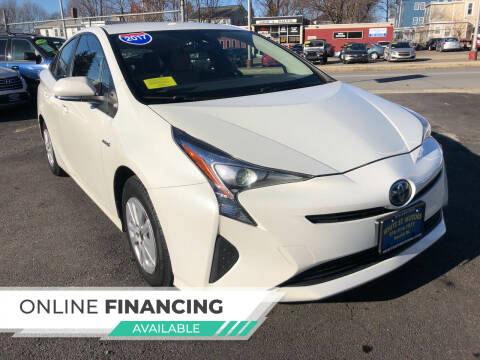 2017 Toyota Prius for sale at White St. Motors in Haverhill MA