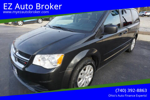 2017 Dodge Grand Caravan for sale at EZ Auto Broker in Mount Vernon OH