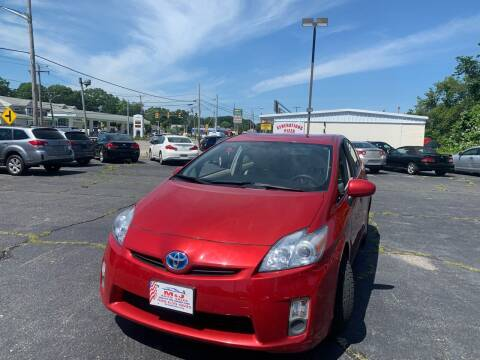 2010 Toyota Prius for sale at M & J Auto Sales in Attleboro MA