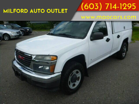 2009 GMC Canyon for sale at Milford Auto Outlet in Milford NH