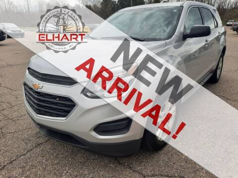 2017 Chevrolet Equinox for sale at Elhart Automotive Campus in Holland MI