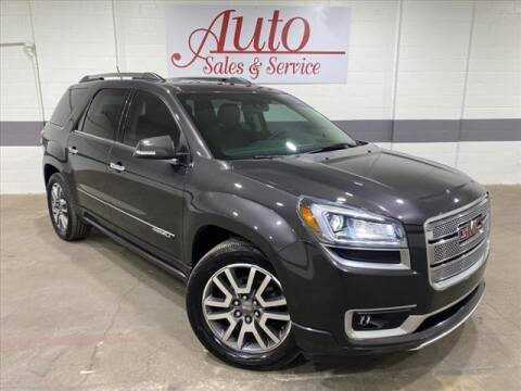2014 GMC Acadia for sale at Auto Sales & Service Wholesale in Indianapolis IN