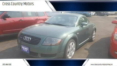2001 Audi TT for sale at Cross Country Motors in Loveland CO
