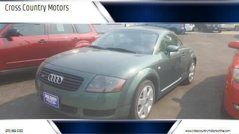 2001 Audi TT for sale at Cross Country Motors in Loveland CO