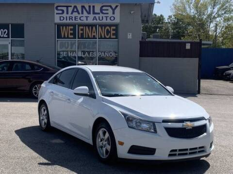 2014 Chevrolet Cruze for sale at Stanley Automotive Finance Enterprise - STANLEY DIRECT AUTO in Mesquite TX