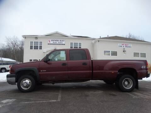 2003 Chevrolet Silverado 3500 for sale at SOUTHERN SELECT AUTO SALES in Medina OH