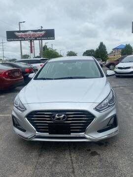 2018 Hyundai Sonata for sale at Washington Auto Group in Waukegan IL