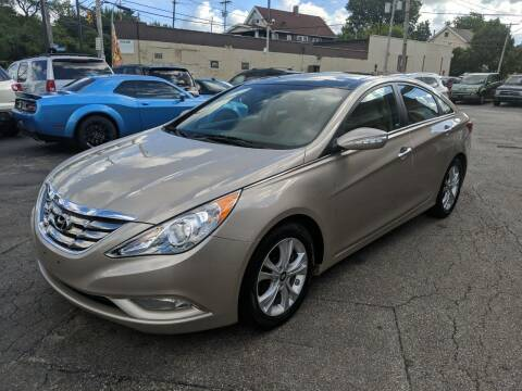 2012 Hyundai Sonata for sale at Richland Motors in Cleveland OH