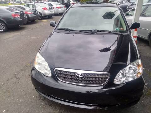 2007 Toyota Corolla for sale at Wilson Investments LLC in Ewing NJ