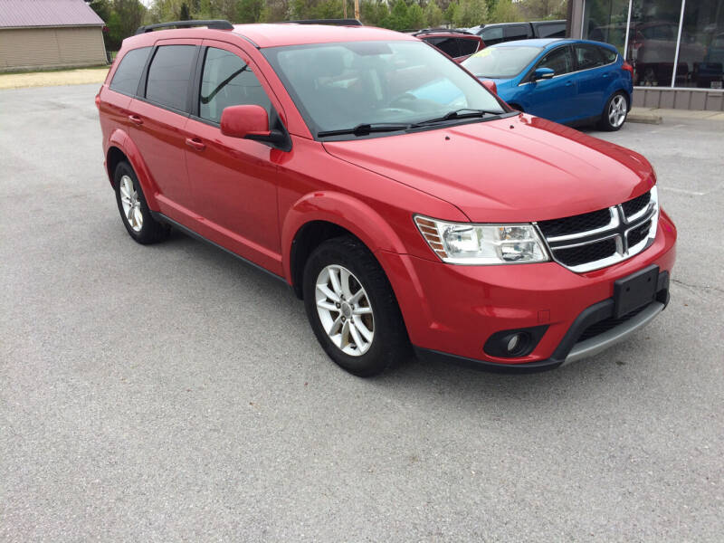 2016 Dodge Journey for sale at KEITH JORDAN'S 10 & UNDER in Lima OH