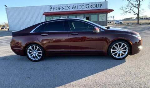 2016 Lincoln MKZ for sale at PHOENIX AUTO GROUP in Belton TX