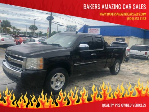 2010 Chevrolet Silverado 1500 for sale at Bakers Amazing Car Sales in Jacksonville FL