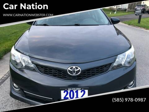 2012 Toyota Camry for sale at Car Nation in Webster NY
