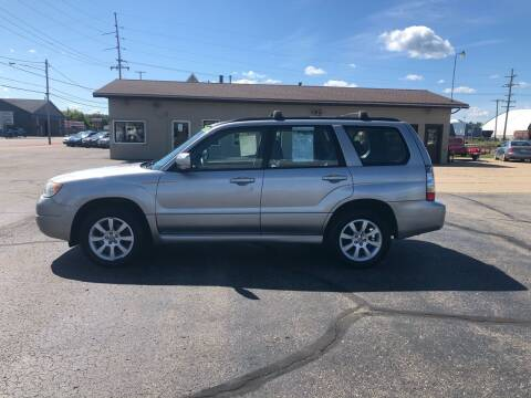 2007 Subaru Forester for sale at Mike's Budget Auto Sales in Cadillac MI