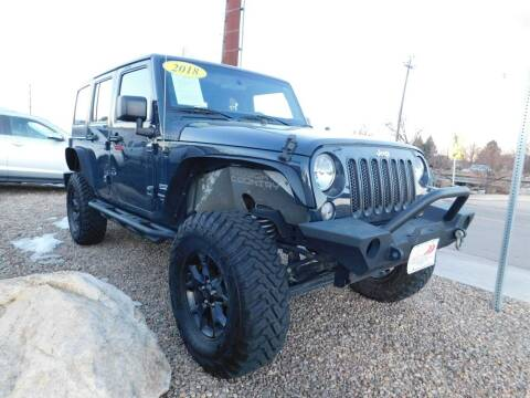 2018 Jeep Wrangler JK Unlimited for sale at AP Auto Brokers in Longmont CO