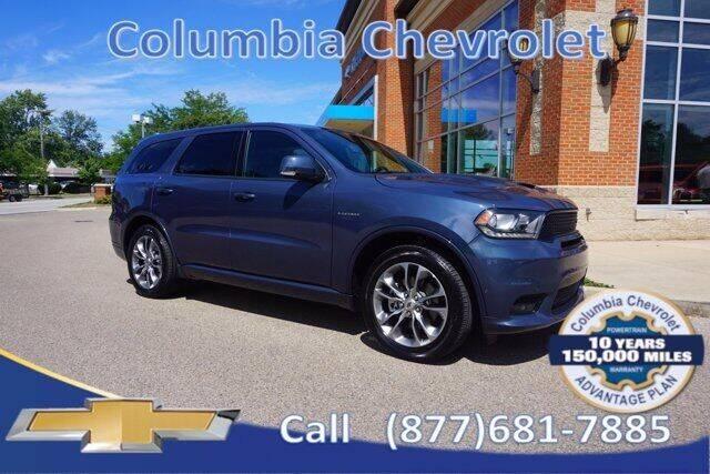 2020 Dodge Durango for sale at COLUMBIA CHEVROLET in Cincinnati OH