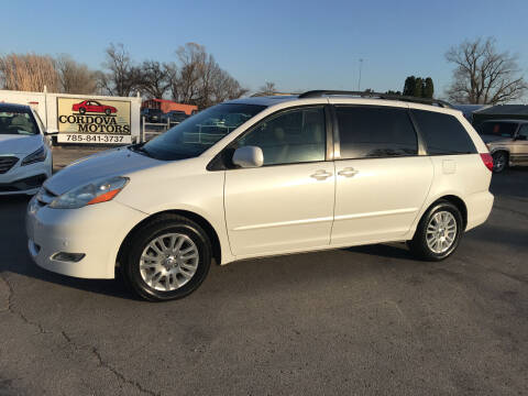 2009 Toyota Sienna for sale at Cordova Motors in Lawrence KS