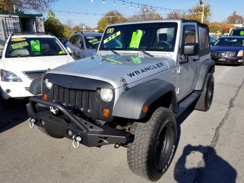 2008 Jeep Wrangler for sale at Howe's Auto Sales in Lowell MA
