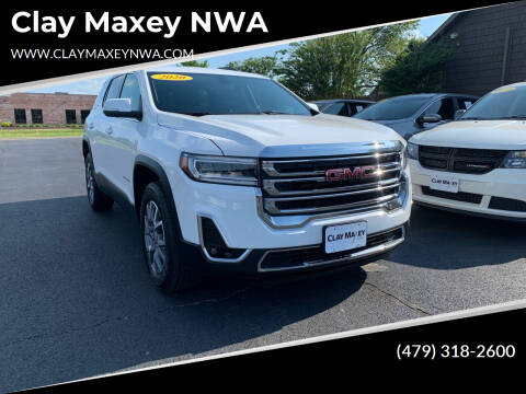2020 GMC Acadia for sale at Clay Maxey NWA in Springdale AR