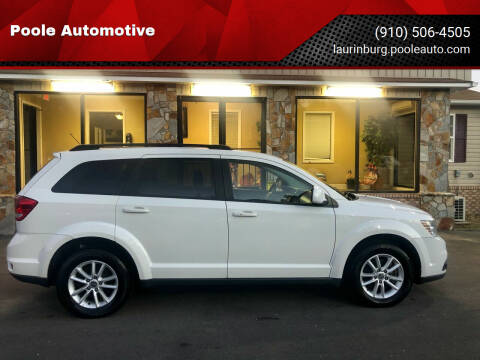 2015 Dodge Journey for sale at Poole Automotive in Laurinburg NC