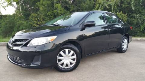 2013 Toyota Corolla for sale at Houston Auto Preowned in Houston TX