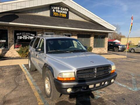 2002 Dodge Durango for sale at Imlay City Auto Sales LLC. in Imlay City MI