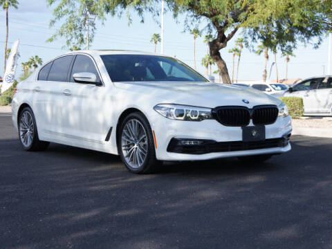 2017 BMW 5 Series for sale at CarFinancer.com in Peoria AZ