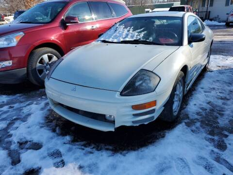 2002 Mitsubishi Eclipse for sale at ASAP AUTO SALES in Muskegon MI