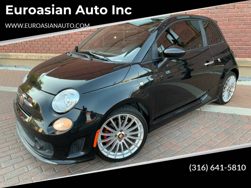 2013 FIAT 500 for sale at Euroasian Auto Inc in Wichita KS