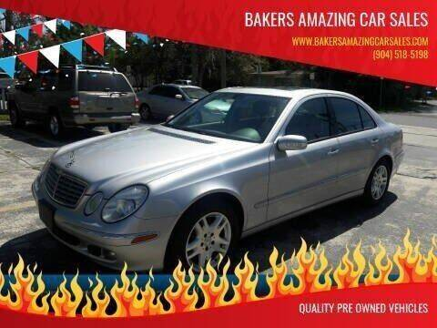 2006 Mercedes-Benz E-Class for sale at Bakers Amazing Car Sales in Jacksonville FL