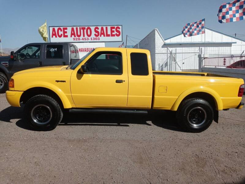2002 Ford Ranger for sale at ACE AUTO SALES in Lake Havasu City AZ