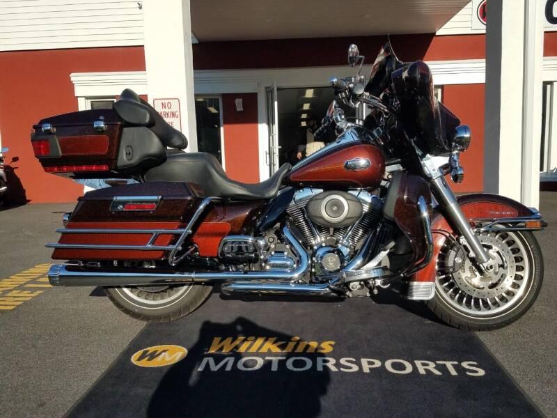 2011 Harley-Davidson Electra Glide for sale at WILKINS MOTORSPORTS in Brewster NY