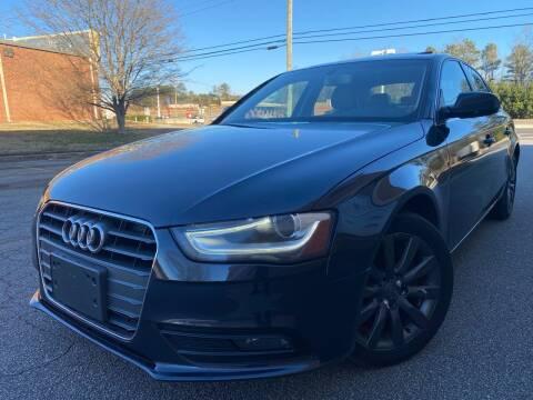 2013 Audi A4 for sale at Gwinnett Luxury Motors in Buford GA