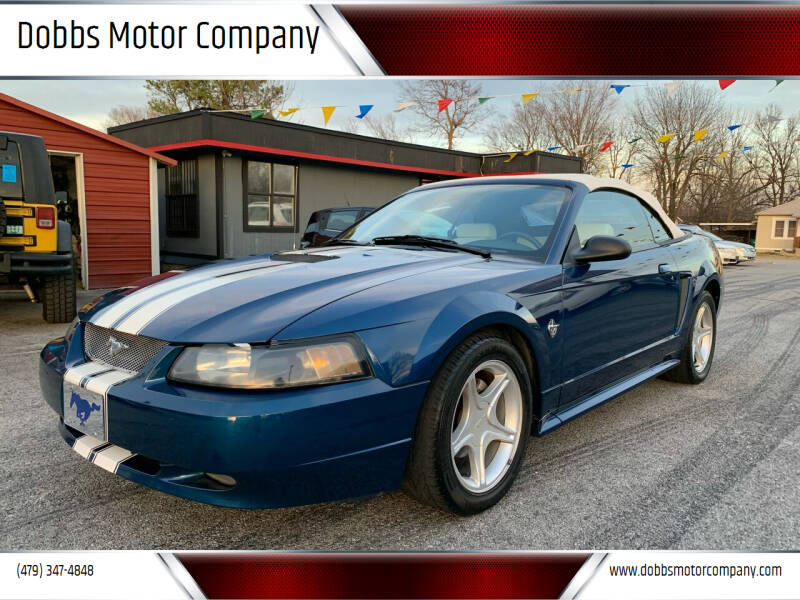 1999 Ford Mustang for sale at Dobbs Motor Company in Springdale AR