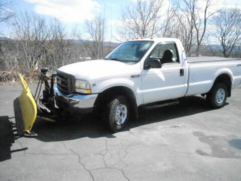 2002 Ford F-250 Super Duty for sale at CASTLE AUTO AUCTION INC. in Scranton PA