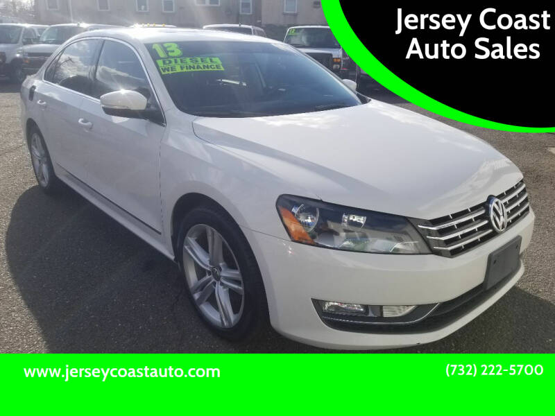 2013 Volkswagen Passat for sale at Jersey Coast Auto Sales in Long Branch NJ