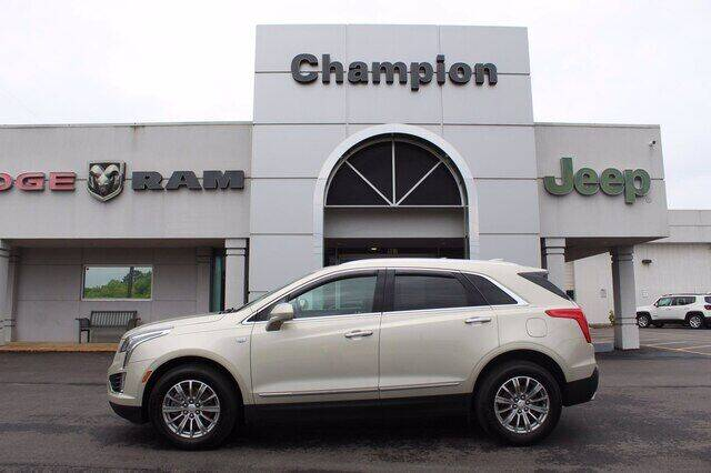 2017 Cadillac XT5 for sale at Champion Chevrolet in Athens AL