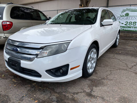 2010 Ford Fusion for sale at GO GREEN MOTORS in Lakewood CO