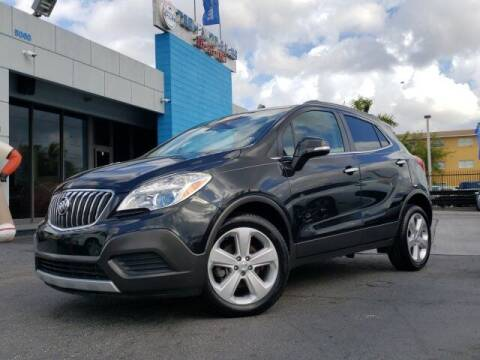 2016 Buick Encore for sale at Tech Auto Sales in Hialeah FL