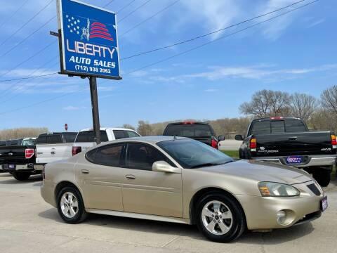 2005 Pontiac Grand Prix for sale at Liberty Auto Sales in Merrill IA