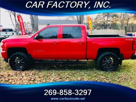 2016 Chevrolet Silverado 1500 for sale at Car Factory Inc. in Three Rivers MI