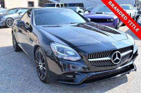 2018 Mercedes-Benz SLC for sale at LAKESIDE MOTORS, INC. in Sachse TX