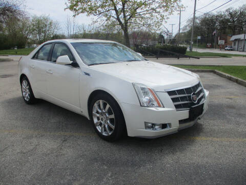 2008 Cadillac CTS for sale at Triangle Auto Sales in Elgin IL