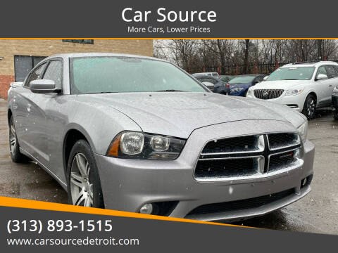 2013 Dodge Charger for sale at Car Source in Detroit MI