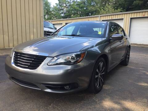 2012 Chrysler 200 for sale at CAR STOP INC in Duluth GA