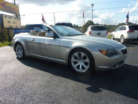 2006 BMW 6 Series for sale at Roswell Auto Imports in Austell GA