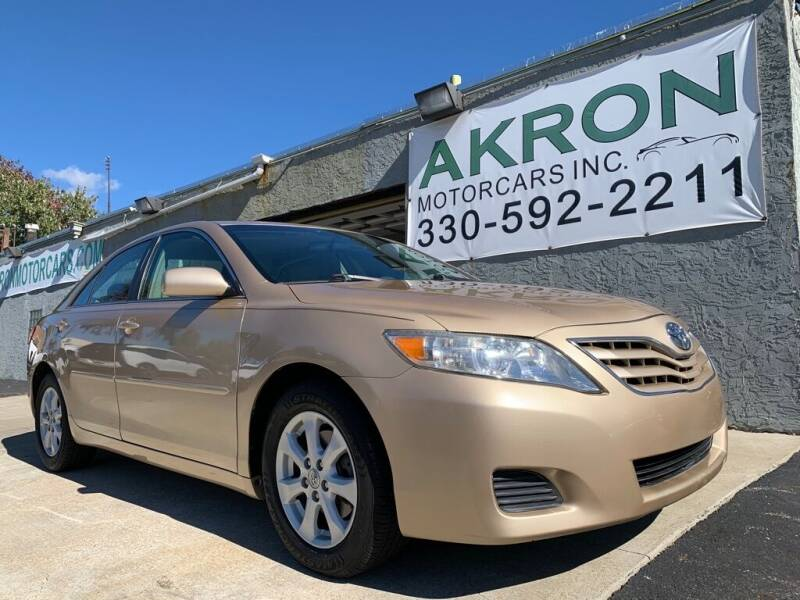2011 Toyota Camry for sale at Akron Motorcars Inc. in Akron OH